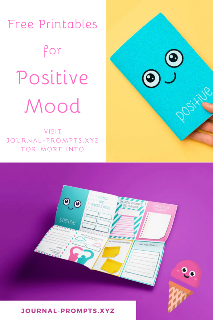 free pdf printables for positive mood-based journal 2020