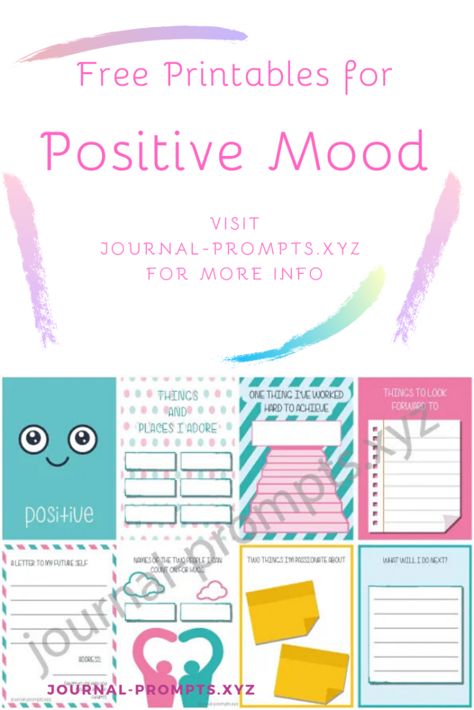 free bullet journal printables pin for positiveness